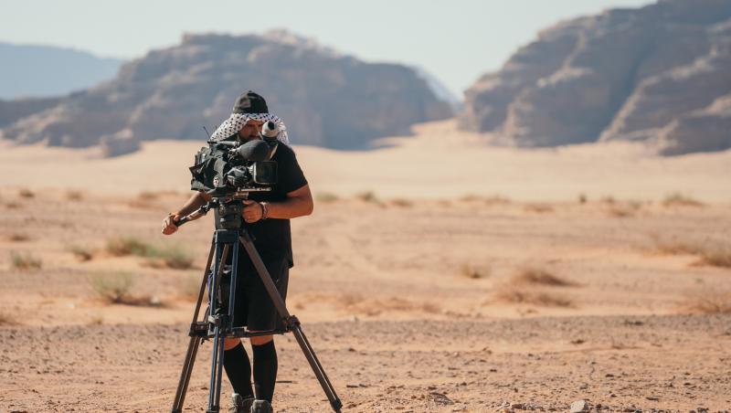 Deșertul a fost unul dintre spațiile care au găzduit desfășurarea competiției Asia Express