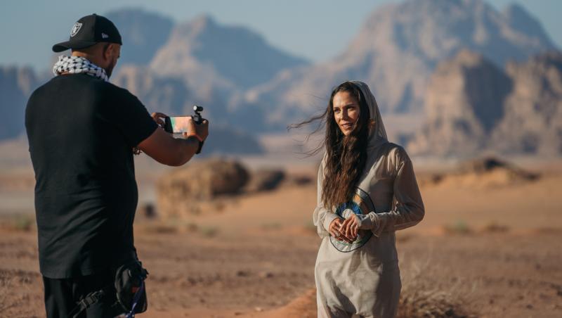 Irina Fodor a przentat Asia Express în Deșert