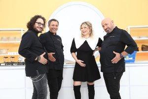 """Florin Dumitrescu, Sorin Bontea, Gina Pistol și Cătălin Scărlătescu, la """"Chefi la cuțite"""""""