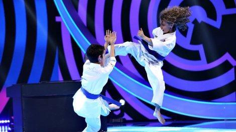 Energy Fit, moment spectaculos de karate combinat cu muzică. Cum au reacționat jurații