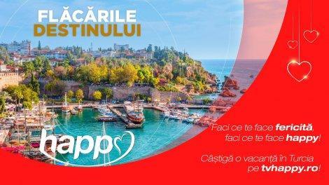 Vara aceasta, Happy Channel îşi premiază telespectatorii cu o vacanţă în Turcia pentru toată familia