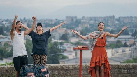 Cosmin și Eliza Natanticu salvați de diamantul verde, la Asia Express- Drumul Împăraților. Show-ul, lider de audienţă