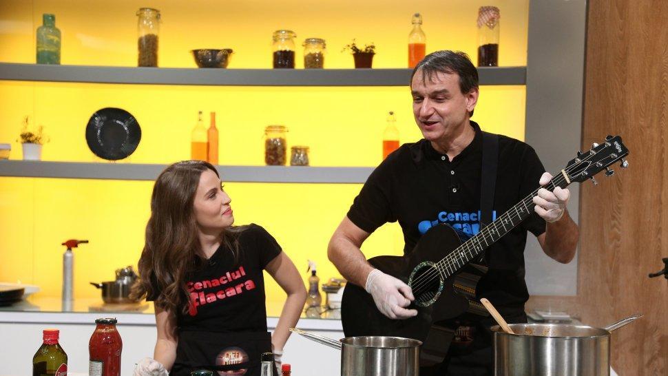 Chef Bontea şi-a adjudecat aseară o nouă amuletă. Andrei Păunescu şi Maria Măgirescu, invitaţi speciali diseară la Chefi la cuţite