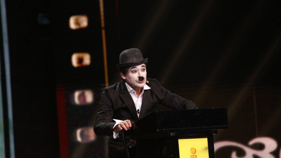 Charlie Chaplin, stand up de senzație cu Cristi Iacob. Momentul la care vei râde cu lacrimi