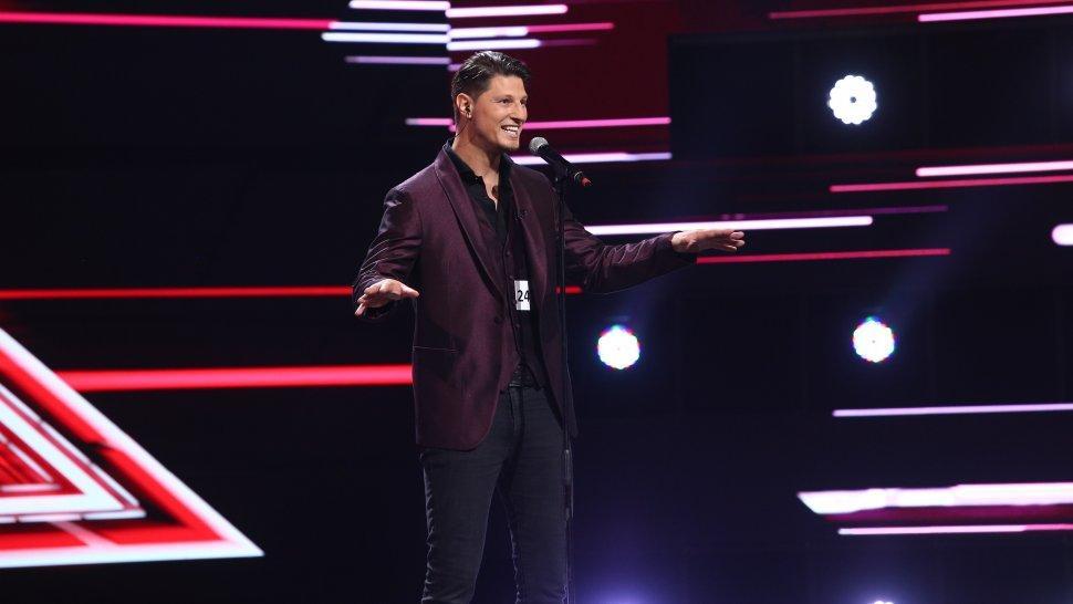 """Nick Casciaro a cucerit sala din primele momente. Interpretarea fantastică i-a adus 4xDA: """"Avem câștigătorul X Factor pe scenă"""""""