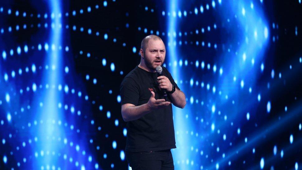 iUmor, 25 septembrie 2021. Bogdan Mălăele, invitatul special din ediția 1, sezonul 11. Cu ce glume a amuzat juriul