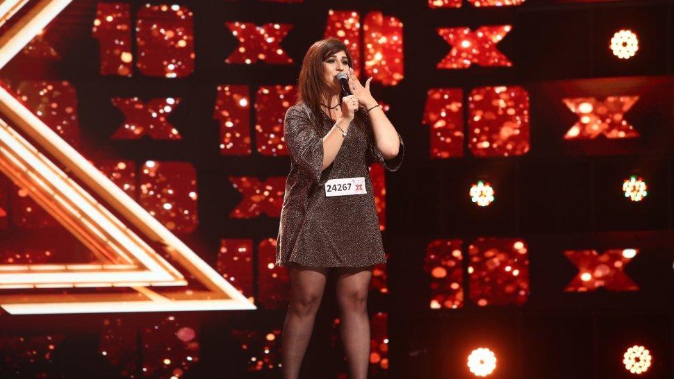 Lavinia Lăcătuș a revenit la X Factor după zece ani și a intrat direct în echipa Loredanei