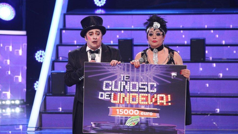 Cine a câștigat finala Te cunosc de undeva! Adriana Trandafir și Romică Țociu sunt învingătorii sezonului 16