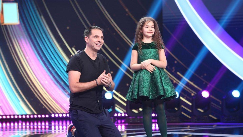 Bella, fetița care a uimit întreaga planetă cu abilitățile sale, urcă pe scena Next Star