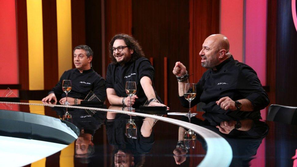 """Cătălin Scărlătescu a câștigat o nouă amuletă. Diseară, chef Bontea este în grevă japoneză: """"Mi-a ajuns! Voi găti doar 10 minute!"""""""