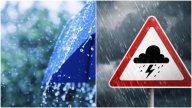 Ploi torențiale și vijelii în aproape toată țara. Ce județe sunt vizate de cod portocaliu și ce zone sunt sub cod galben