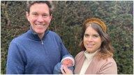 Prințesa Eugenie, noi imagini cu bebelușul August și soțul Jack Brooksbanks. Cum arată nou născutul