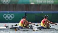 Reacția Ancuței Bondar după ce a câștigat prima medalie de aur la Jocurile Olimpice 2020 împreună cu Simona Radiș