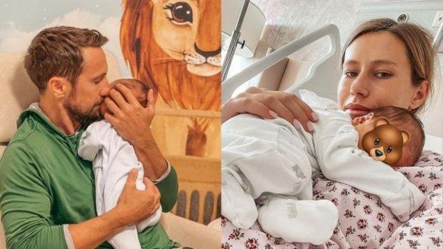 Gabriela Prisăcariu a publicat un filmuleț în care se vede chipul micuțului ei și al lui Dani Oțil.Cât de drăgălaș este Luca Tiago