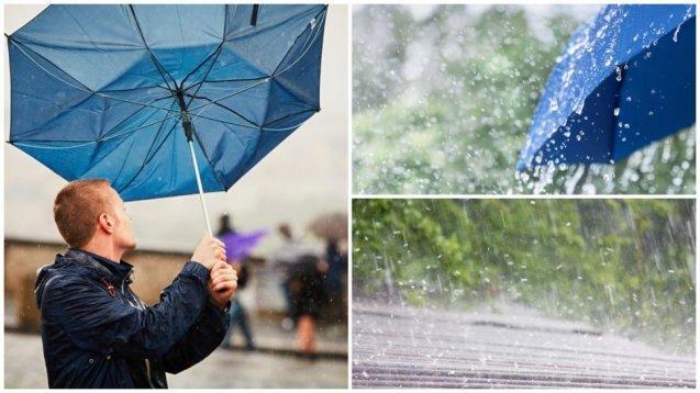 ANM anunță ploi în următoarea perioadă. Unde se vor semnala descărcări electrice, grindină și intensificări ale vântului