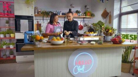 Hello Chef, sezon 2, episod 4. Rețeta de piept de rață cu pară fiartă a lui Chef Roxana Blenche. Ingrediente și mod de preparare