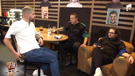 """""""Speak la cuțite"""", episodul 35. Bontea, Dumitrescu și Scărlătescu s-au întrecut în cocktailuri"""