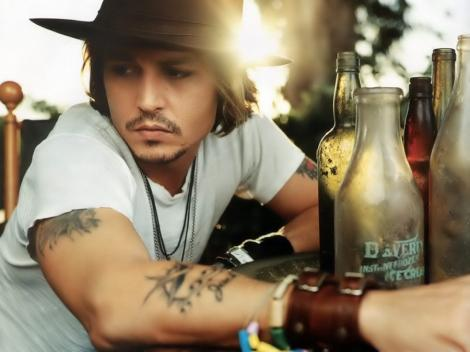 Johnny Depp, cel mai influent artist din lume