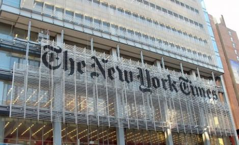 """The New York Times"" taxeaza continutul online din ianuarie 2011"