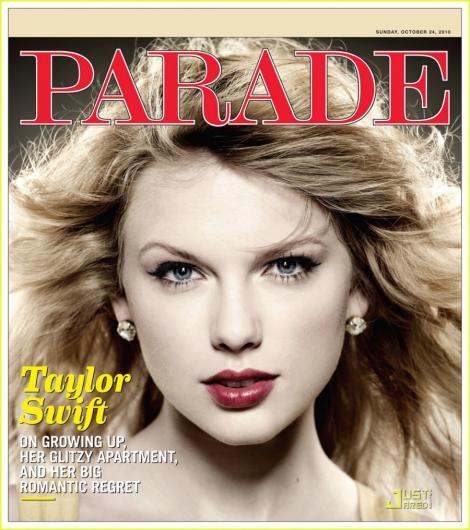 FOTO! Taylor Swift se destainuie pentru revista Parade