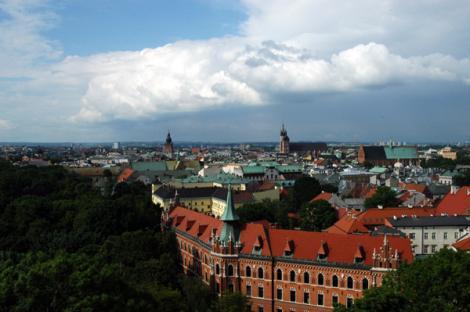 Cracovia, orasul regal al Poloniei