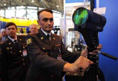 "Politia rusa are o noua ""jucarie"": Alcooltest de distanta"