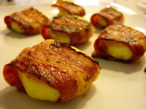 Reteta: cartofi cu sunca
