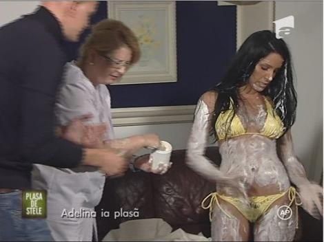 """VIDEO! Adelina Pestritu, """"cremoasa"""" pentru francezi la """"Plasa de Stele"""""""