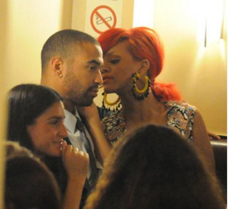 Rihanna şi Matt Kemp, ca doi porumbei la Paris