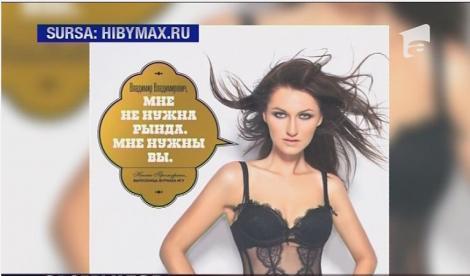Calendar erotic in cinstea lui Putin