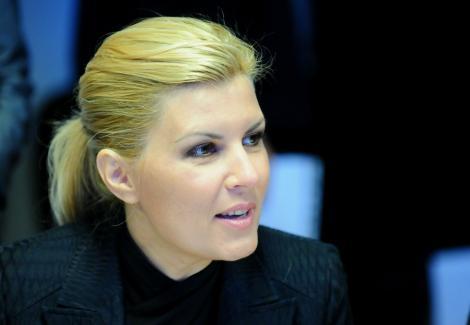 """Elena Udrea: """"Problema cu frunza din logoul brandului turistic al Romaniei a fost rezolvata"""""""