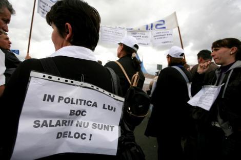 Protest spontan la Spitalul de Boli Infectioase din Timisoara