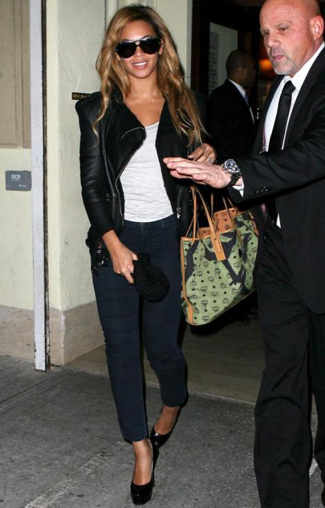 Beyonce a calcat stramb!