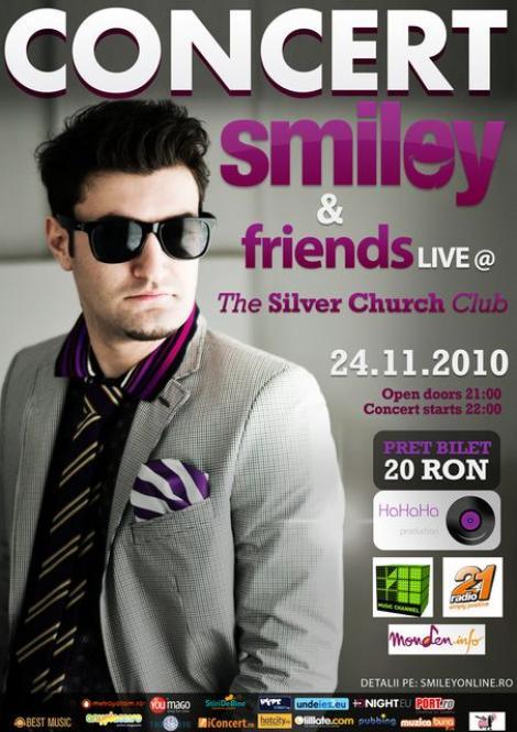 Smiley & friends Live la Silver Church Club
