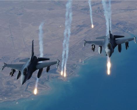SUA au trimis 75 de avioane de lupta in Coreea de Sud