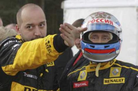 VIDEO! Vladimir Putin, pilot de Formula 1