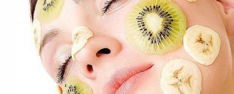 Frumusete cu o masca de banane