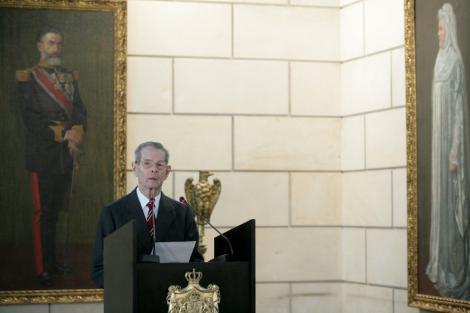 Regele Mihai I a transmis traditionalul mesaj de sarbatori de la Domeniul Savarsin