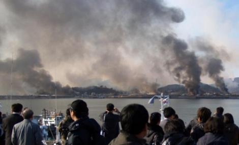 Coreea de Sud: Vom bombarda Nordul, daca ne ataca din nou