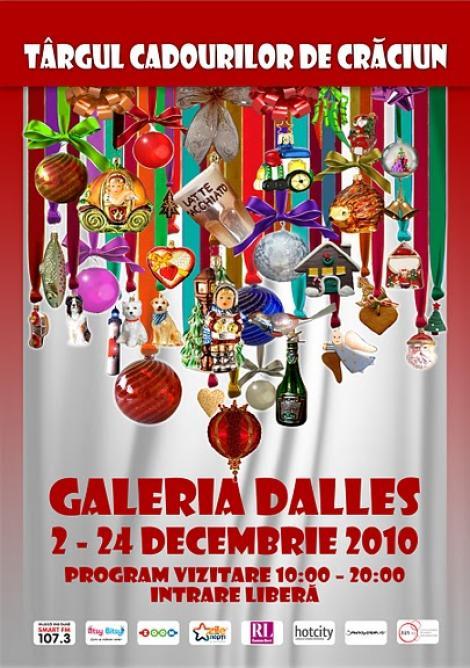 S-a deschis Targul Cadourilor de Craciun la Sala Dalles!