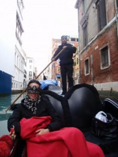 Andreea Raicu a avut experienta vietii la Venetia
