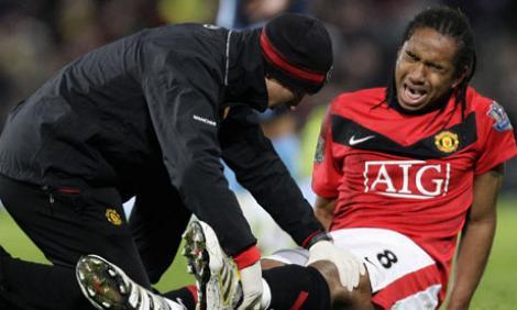Sezon incheiat pentru Anderson, jucatorul lui Manchester United