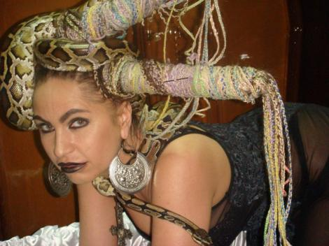 Carmen Plesea in cavou