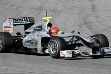 F1 2010, MP Bahrain // Schumacher a dublat audienta  RTL