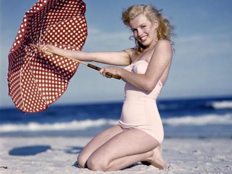 Marilyn Monroe in ultimul costum de baie