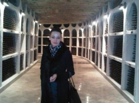 Andreea Raicu a baut la crama