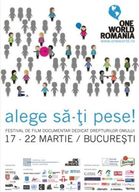 Festivalul de film documentar dedicat drepturilor omului, One World Romania