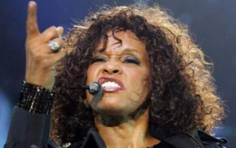 Whitney Houston, ironizata de presa britanica