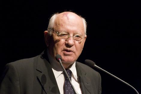 Fostul presedinte sovietic Mihail Gorbaciov, la Bucuresti