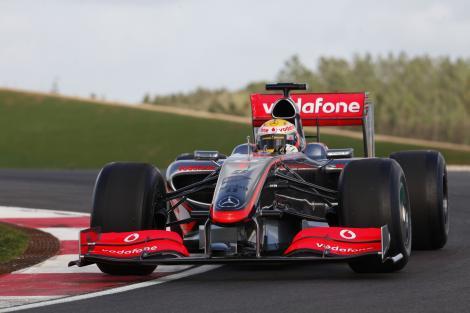 MP al Chinei / McLaren domina autoritar antrenamentele